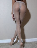 Grey Swirl Sexy Sheer Used Pantyhose